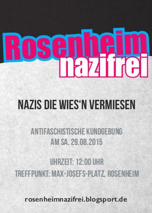 Rosenheim nazifrei 12:00 Uhr Max Josefs Platz